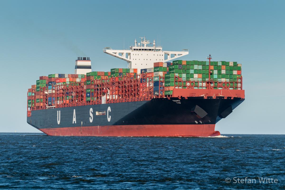 Containerschiff Uasc Tihama Stefan Witte De